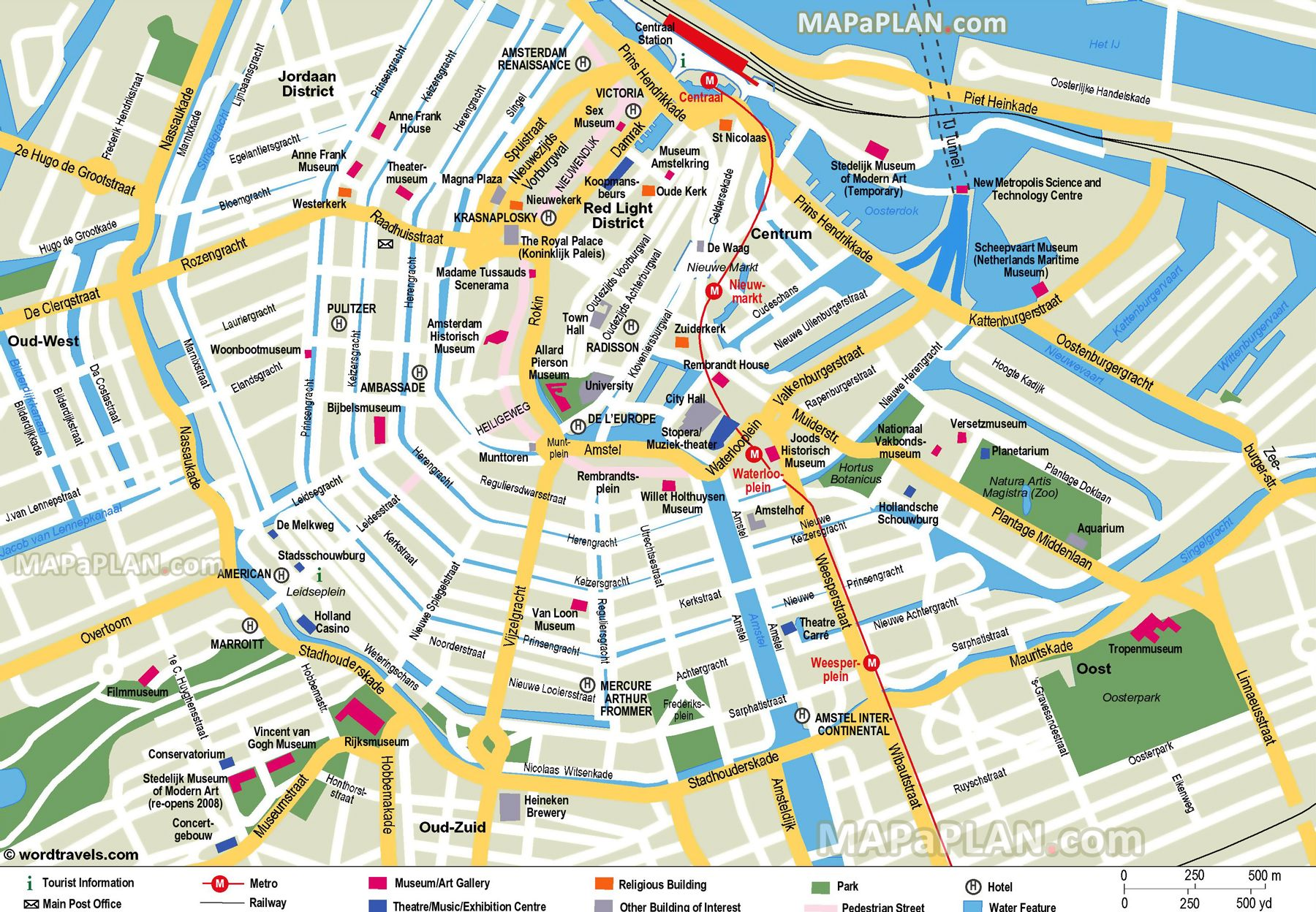 graphic regarding Printable Map of Amsterdam titled free of charge printable map of amsterdam - Google Appear planet