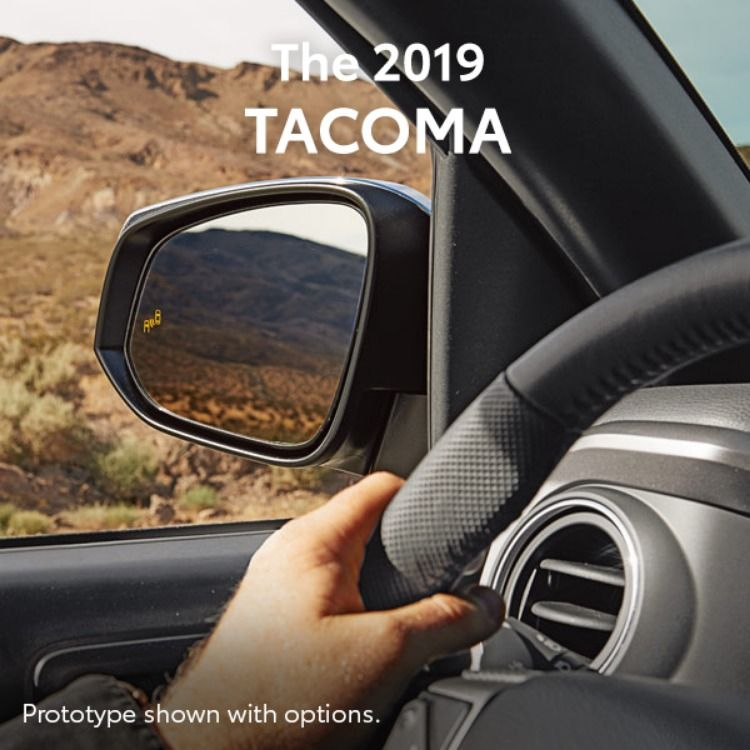 The 2019 is at your command. Toyota dealership