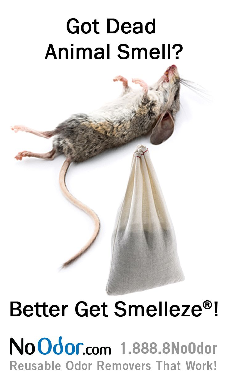 Smelleze® Reusable Dead Animal Smell Deodorizer Pouch
