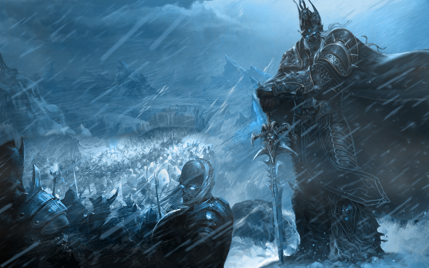 Lich King Wallpaper I Made I Hope You Like It Worldofwarcraft