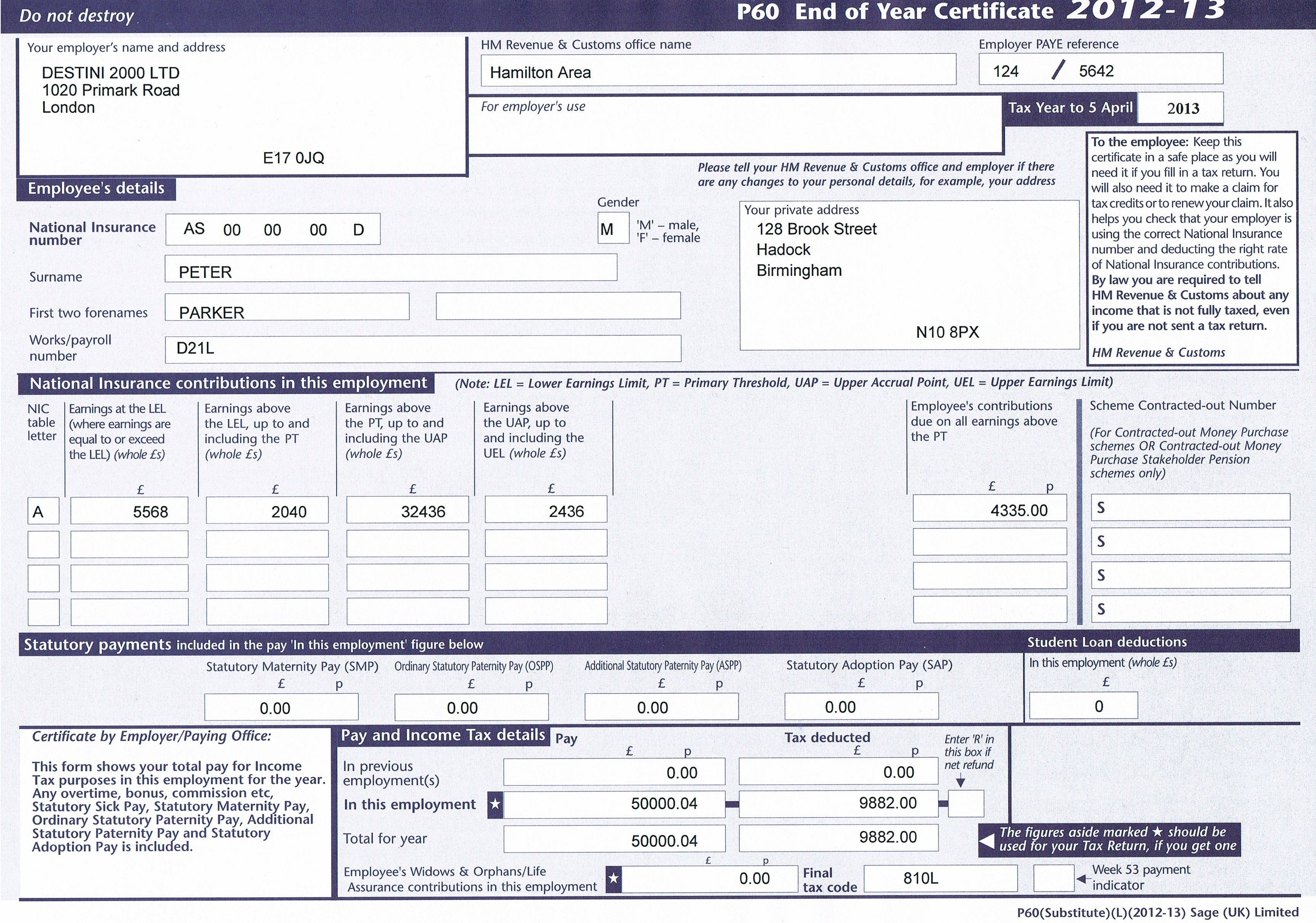 Buy Lost or Damage Payslips Online at Lowest Price in UK