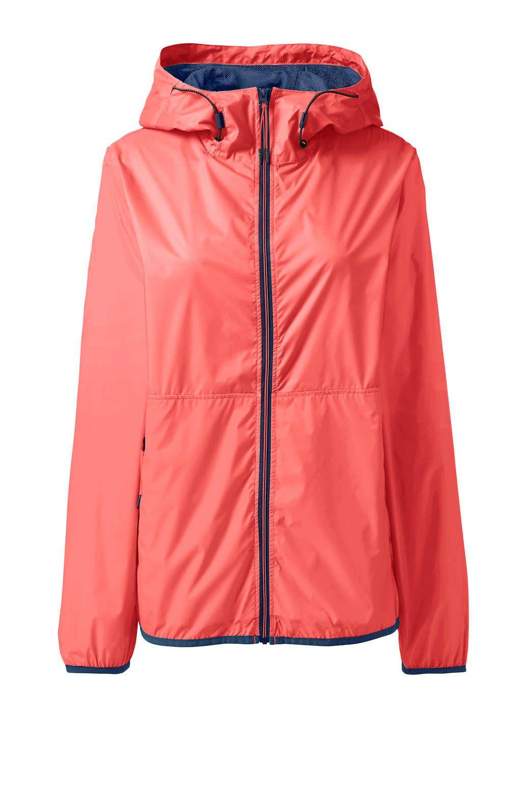 9b9e39f77a6e3 Women's Packable Windbreaker Jacket from Lands' End | style in 2019 ...