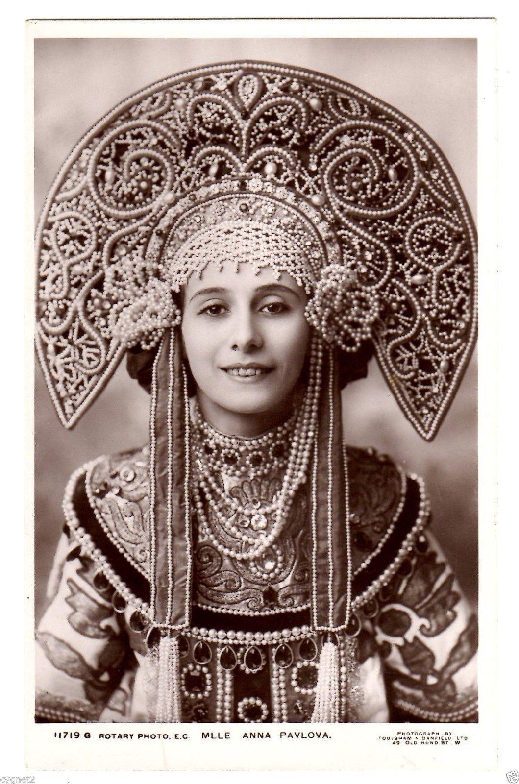 Original Postcard Ballet Anna Pavlova 1909 Russian Dance | eBay