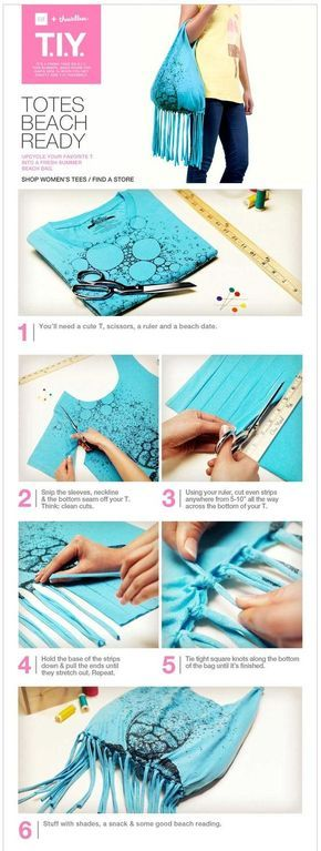 What to do with old t shirts - 15 ways to upcycle your old tees