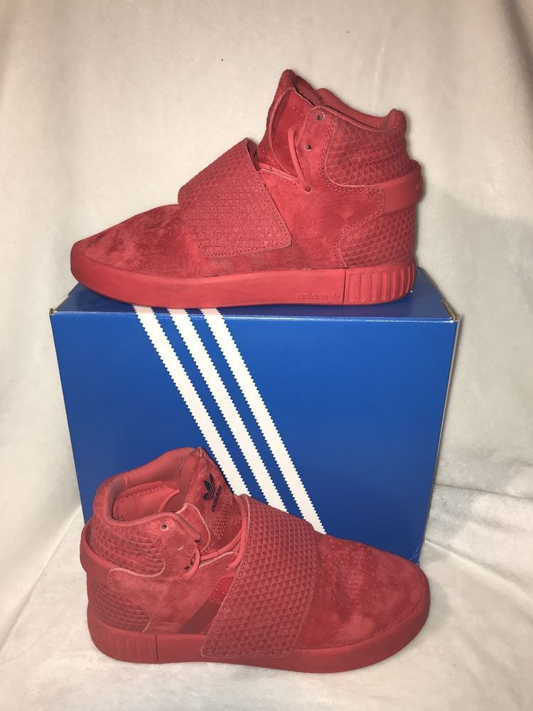 Adidas Tubular Invader Strap Mens Originals Maroon Burgundy Red Triple  BW0873  fashion  clothing  shoes  accessories  mensshoes  athleticshoes  ad  (ebay ... a6ff383b2
