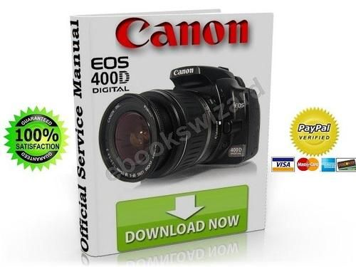 canon eos 400d digital slr camera service manual fix guide other rh pinterest co uk Canon Vixia HV30 Manual Canon HV30 External Mic