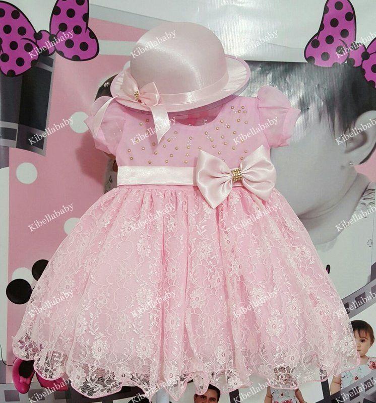 5e24c70c42 vestido infantil de festa