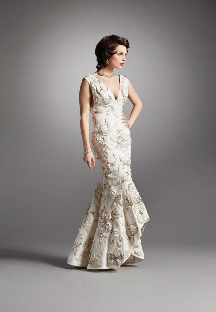 Mid Century Modern Wedding Dress Aquamarine Wedding Dresses My