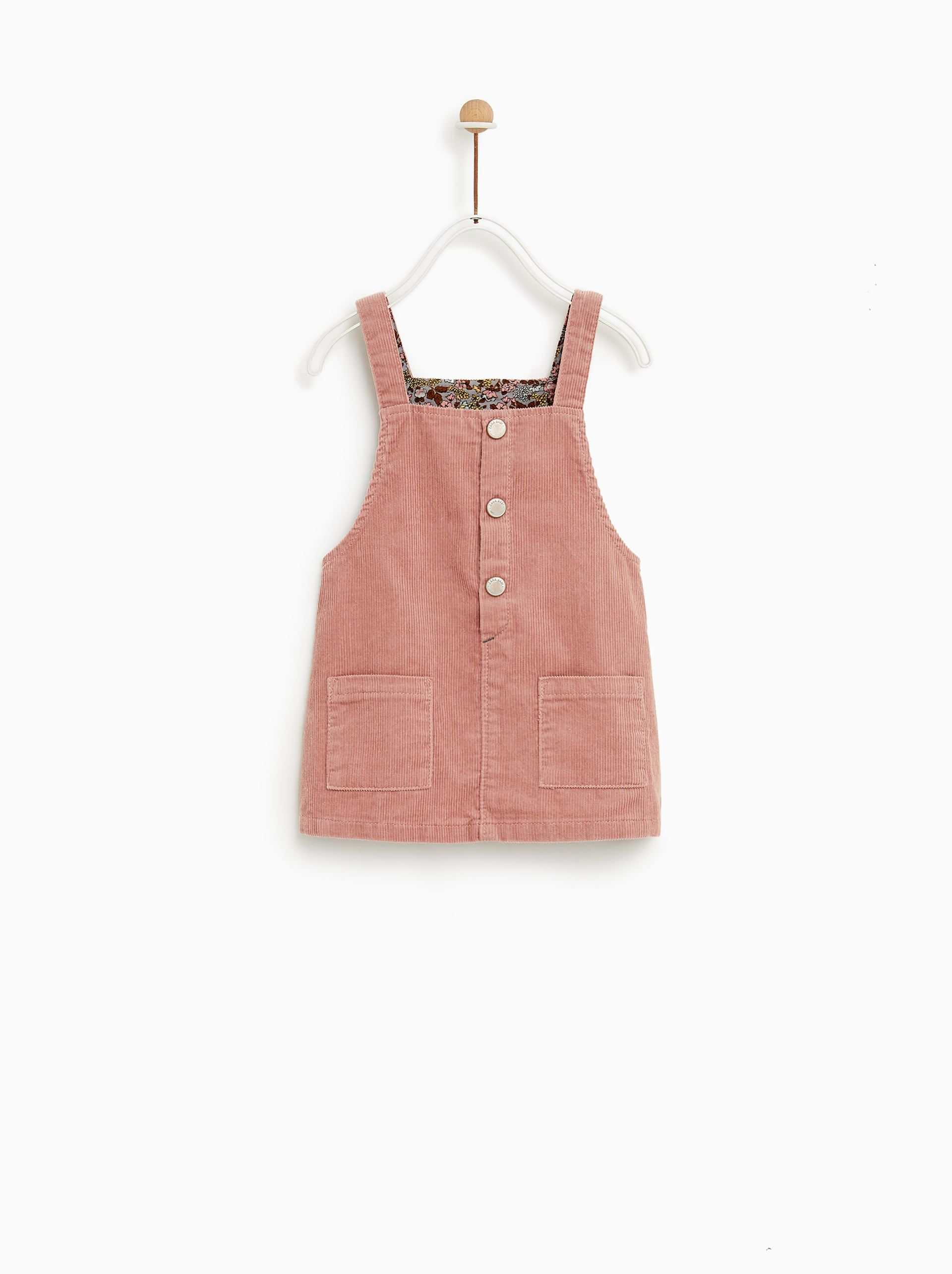 01d9bd863da Corduroy pinafore dress | What to wear | Baby girl dresses, Baby ...