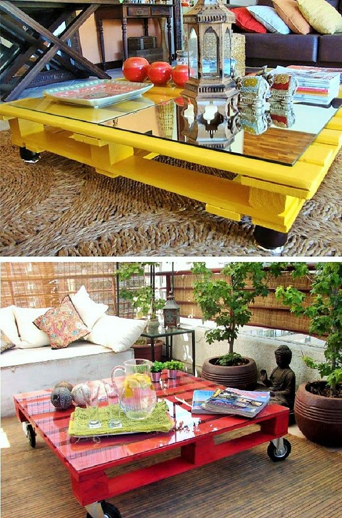 motive diy pallet coffee table with