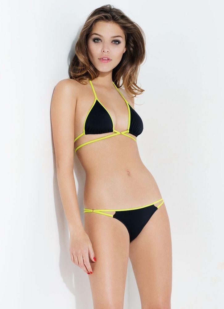 8f4ac51890652 Agent Provocateur L'Agent Cari Bikini Set Black S M or L Brand New RRP £95  in Clothes, Shoes & Accessories, Women's Clothing, Swimwear   eBay