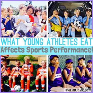 How to Feed and Fuel Young Athletes!