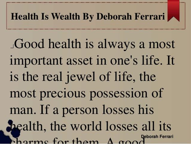 Health Is Wealth Essay Essay For Health Example Of Binary Options Is  Health Is Wealth Essay