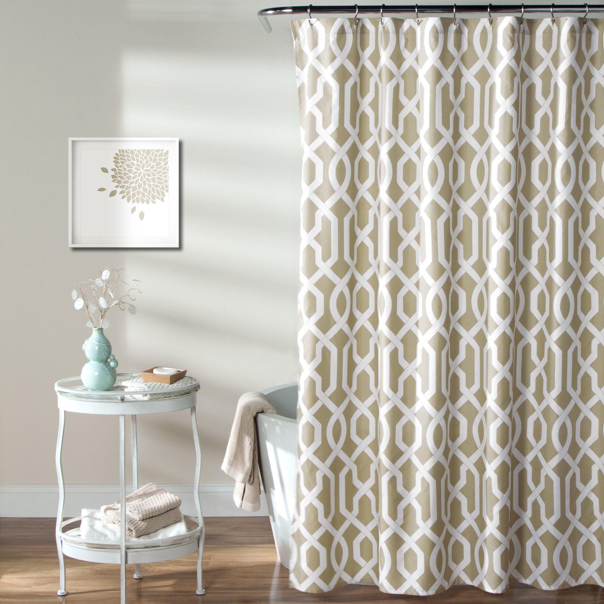 Special Edition By Lush Decor Edward Trellis Shower Curtain