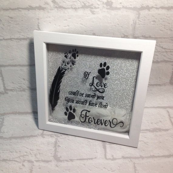 Loss Of A Pet Quote Adorable Pet Loss Frame Pet Loss Box Frame Pet Loss Memorial