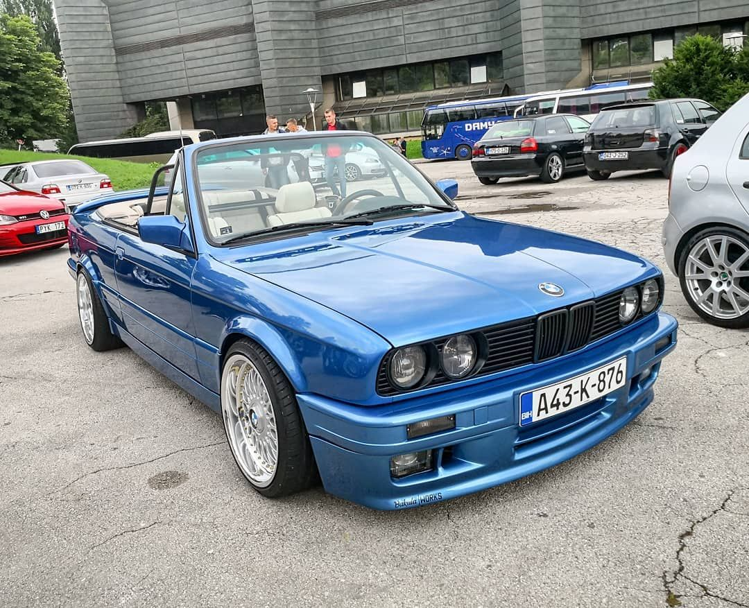 Tuning Show Sarajevo Back To The Roots 2k18 Bmw E30 Cabrio