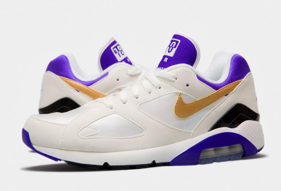 Meilleur Baskets Nike Air Max Terra 180 QS - Violet Or Blanc Soldes France