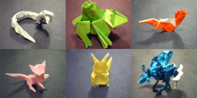 origami pokemon instructions charizard