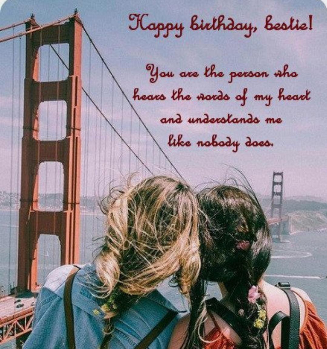 Pin By Malak On Birthdays Happy Birthday Bestie Quotes Happy Birthday Wishes Quotes Happy Birthday Quotes