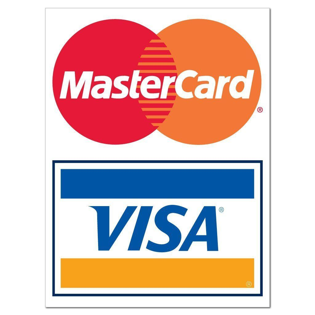 Mastercard visa credit card sign or sticker 10 products mastercard visa credit card sign or sticker 10 reheart Images