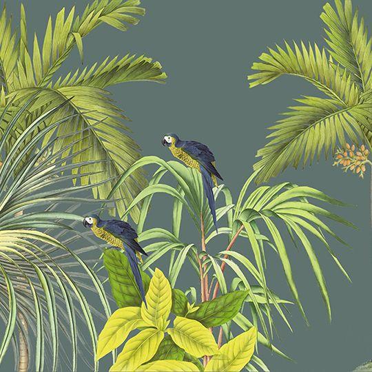 Jungle Canopy 2 Spring - Fototapeter \ Tapeter - Photowall Tapet