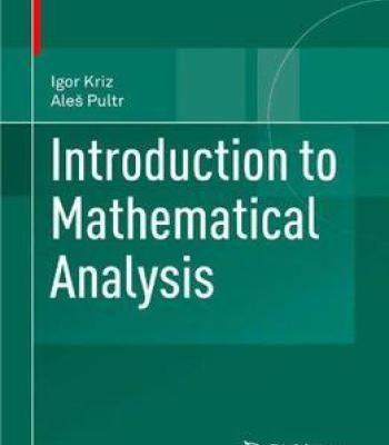 Introduction To Mathematical Analysis Pdf Mathematical Analysis