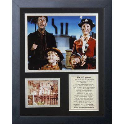 Legends Never Die Mary Poppins Framed Memorabilia