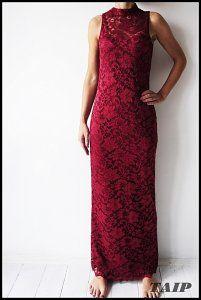 Boohoo Cudowna Koronkowa Sukienka 40 6323656146 Oficjalne Archiwum Allegro Dresses Formal Dresses Red Formal Dress