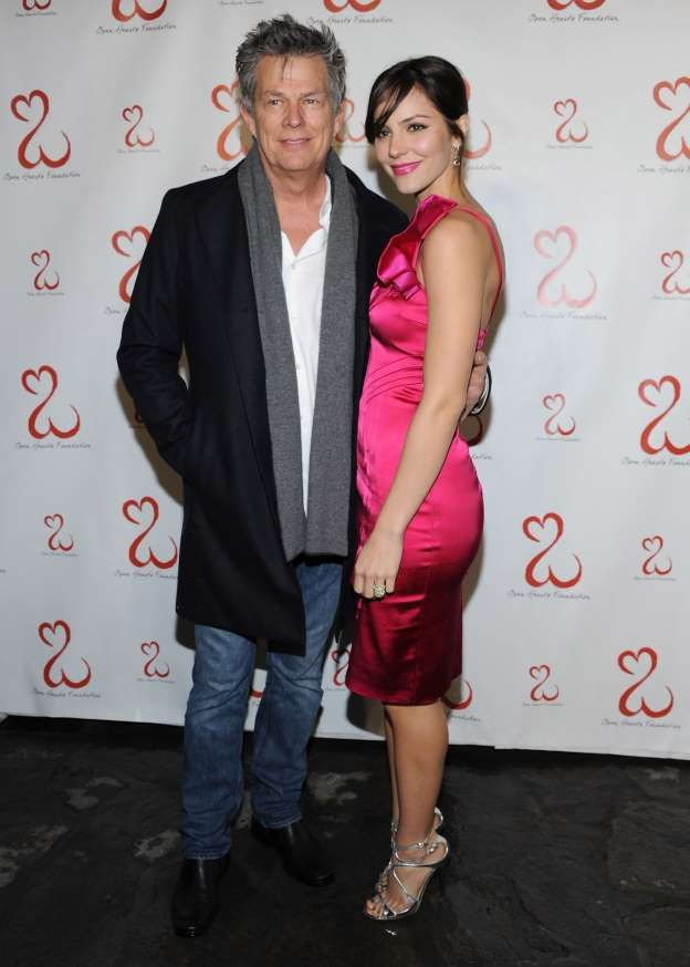 David Foster 67 And Katharine Mcphee 33 Ignite Romance Rumors Secretly Married Katharine Mcphee Celebrities
