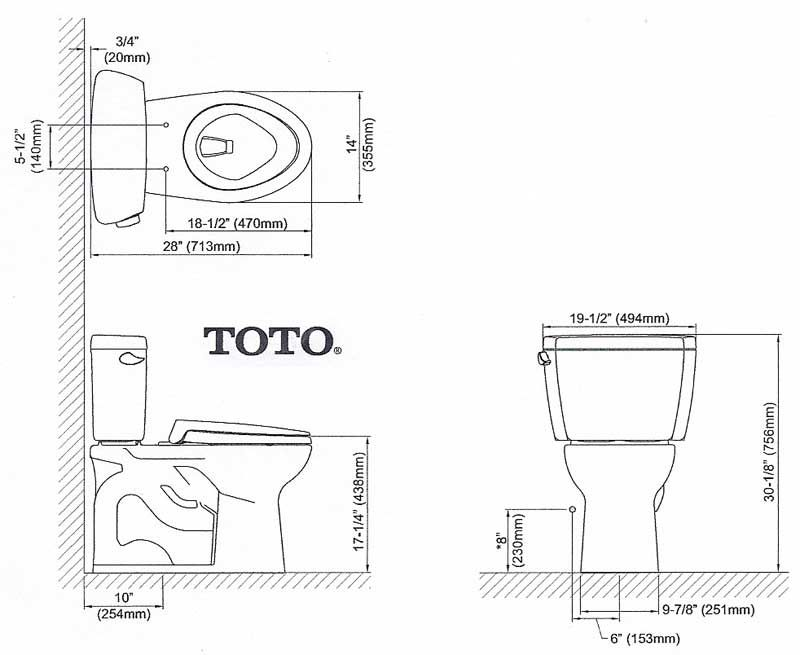 Toilet Dimensions From Wall. Walls IMG  Plumbing Pinterest Corner toilet Toilet and Condos