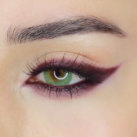 Photo of CRANBERRY FALL EYE MAKEUP IDEA TUTORIAL