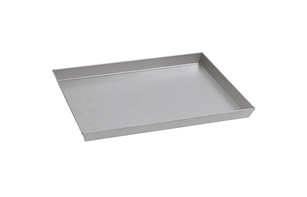 Paderno World Cuisine 11 7 8 Inch By 9 Inch By 1 1 8 Inch Splayed Sided Aluminized Steel Baking Sheet Check Paderno World Cuisine World Cuisine Baking Sheet