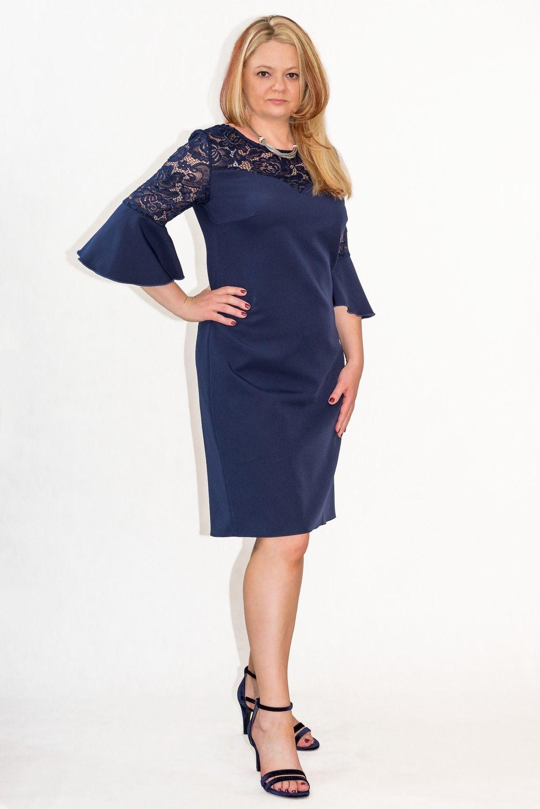 bc84a8a2b53e3e Elegancka sukienka XXL 40-60 na wesele PAOLA duże rozmiary - XELKA odzież  damska online, sklep internetowy I Odzież damska plus size, XXL, duże  rozmiary, ...