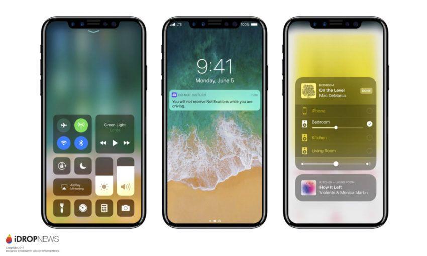 Des traces d'iPhone 8 repérées sur le web dans les logs d