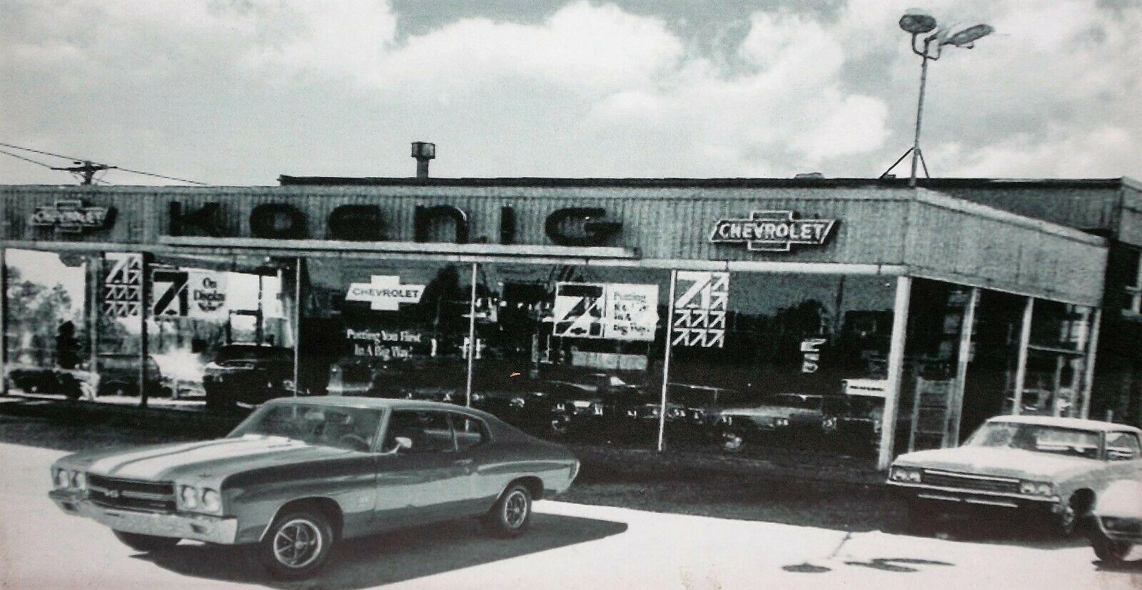 1971 Bill Koenig Chevrolet Oldsmobile Dealership Port Angeles Washington Car Dealership Plymouth Satellite Chevrolet
