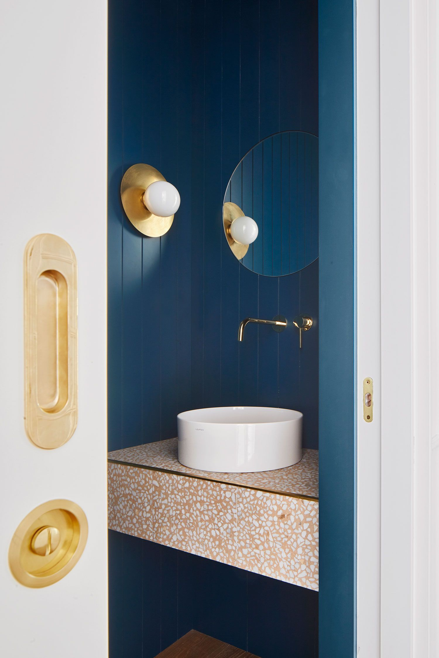 Arag Street Residence Powder Room In Barcelona By Miriam Barrio
