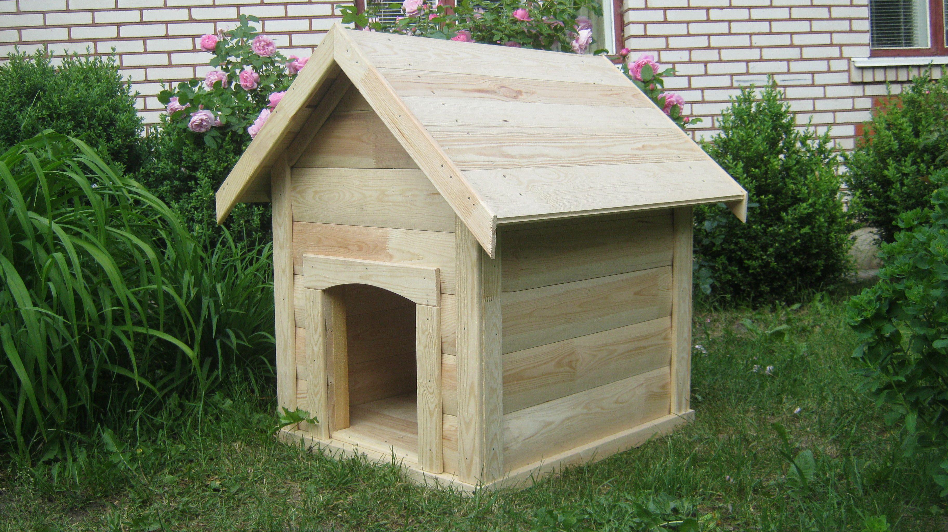 Домик для собаки (с изображениями) | Домики, Вагонка, Будки
