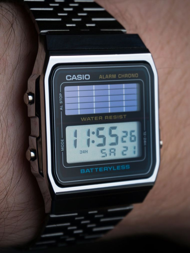 Casio 2019 WatchEn Reloj Al 180 Digital Retro Solar DHe2IEYW9