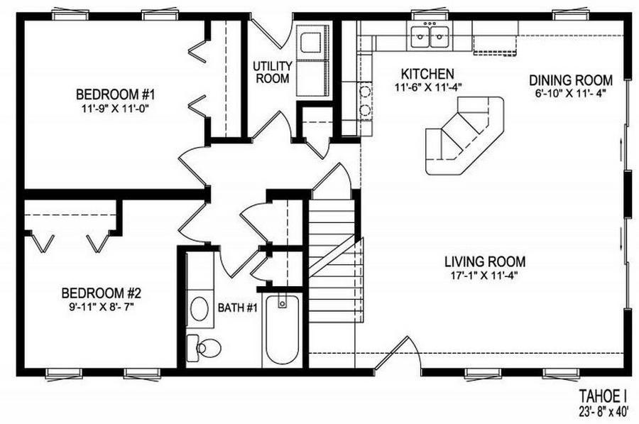Small house plan hus pinterest design hus och for Monster mansion mobile home floor plan