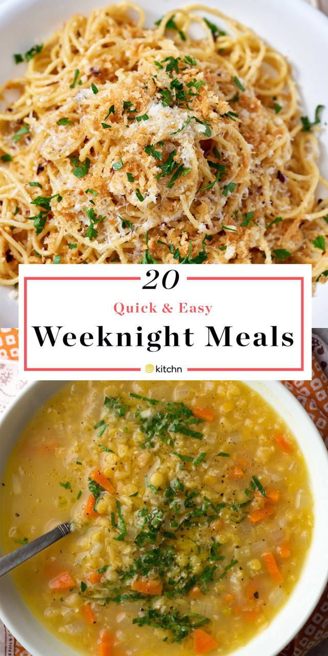 20+ No-Stress Dinner Recipes That Aren't Fussy images