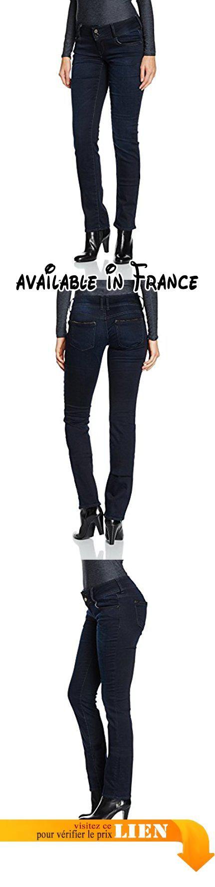 Le Temps des Cerises JF220HILLWS31, Jeans Femme, Bleu (Black/Blue), W24/L34 (Taille Fabricant: 24). Type de coupe:Bootcut #Apparel #PANTS
