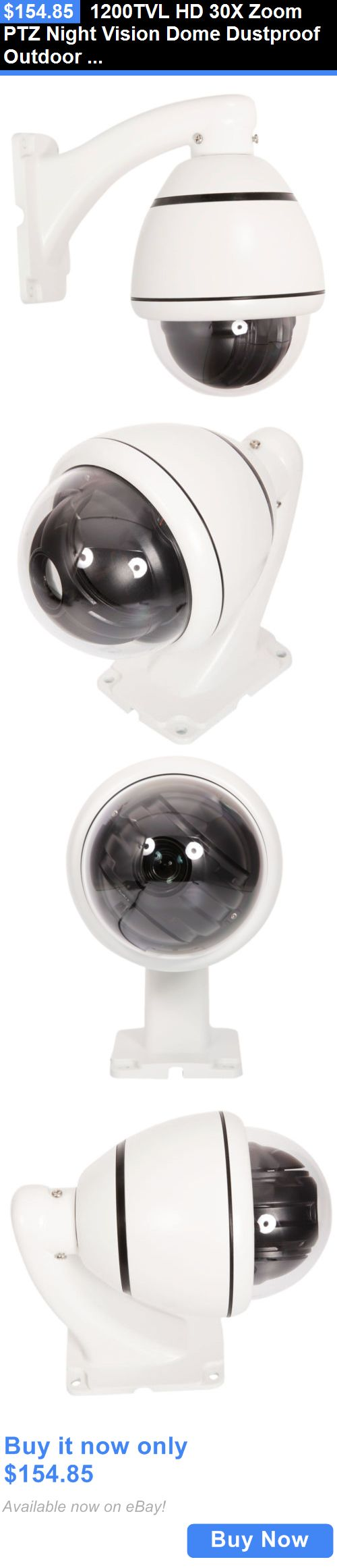 Security Cameras: 1200Tvl Hd 30X Zoom Ptz Night Vision Dome ...