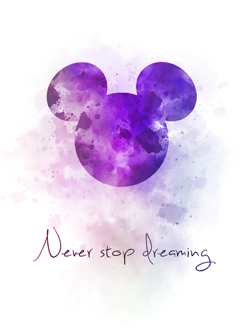 Never Stop Dreaming Quote ART PRINT Mickey Mouse, Nursery, Gift, Wall Art , Home Decor, Disney, Inspirational, Inspirational Quotes, Watercolour, Gift Ideas, Birthday, Christmas #NeverStopDreaming #Quote #ARTPRINT #MickeyMouse #Nursery #Gift #WallArt #HomeDecor #Disney #Inspirational #InspirationalQuotes #Watercolour #GiftIdeas #Birthday #Christmas