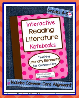 Genius Idea from I'm Lovin' Lit - bind together big files purchased through TpT or TN. September Swap: Interactive Reading Literature Notebooks from I'm Lovin Lit