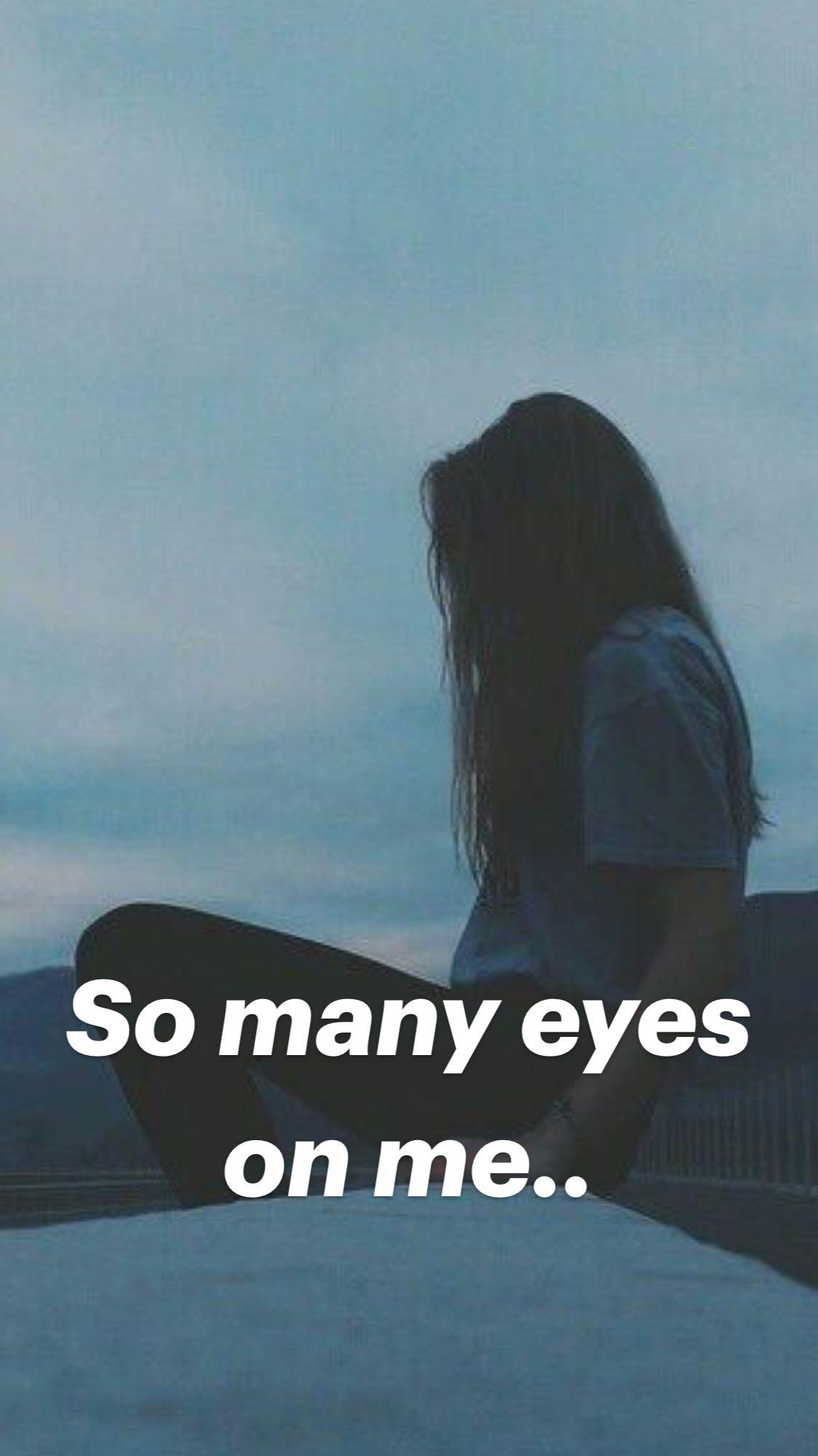 So many eyes on me..