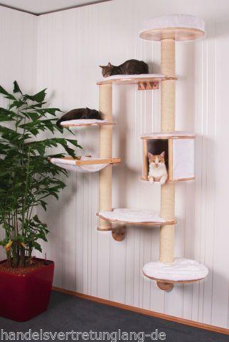 details zu xxl wandkratzbaum kratzbaum wand. Black Bedroom Furniture Sets. Home Design Ideas