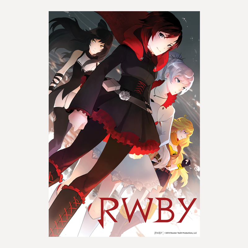 RWBY Wall Scroll available on roosterteeth.com