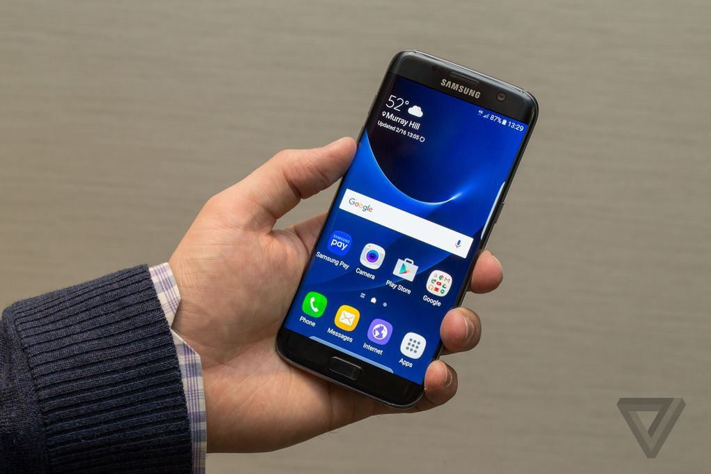 Samsung Announces Its Galaxy S7 And S7 Edge Smartphones Samsung Galaxy S7 Smartphone