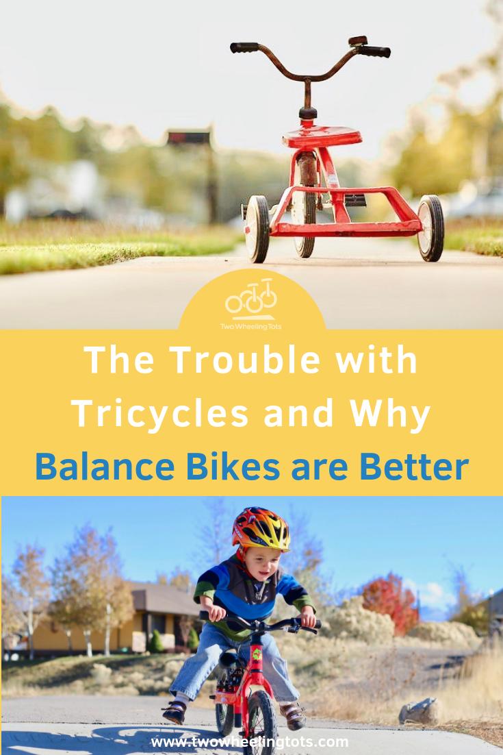 Balance Bike Vs Tricycle Balance Bike Bike Tricycle