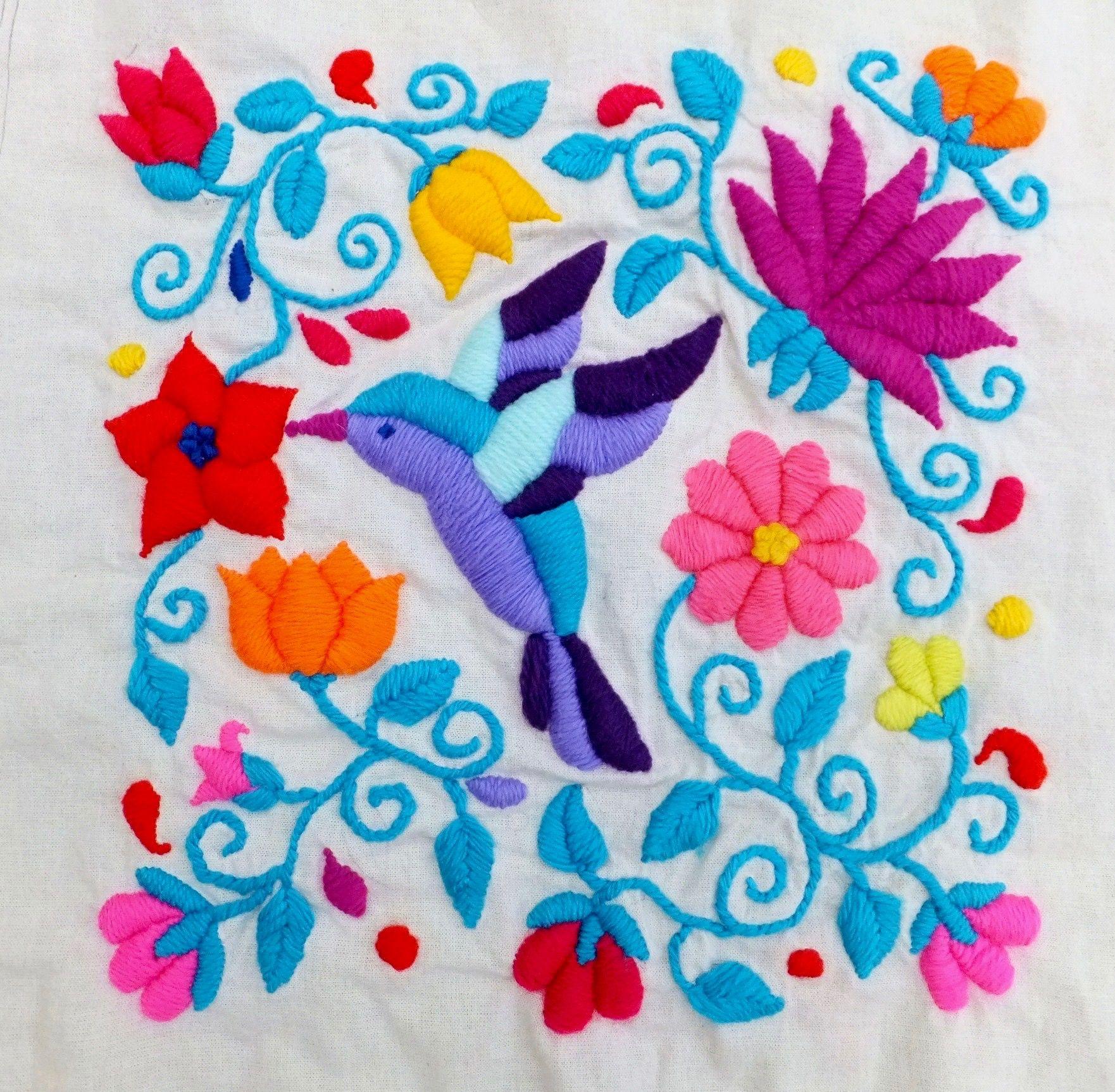 Bordado Mejicano . Mexican Embroidery By Lilibeth Harris